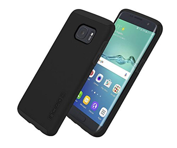 Incipio Dual Layer Pro Case for Samsung Galaxy S7 Edge Black SA-755-BLK-V