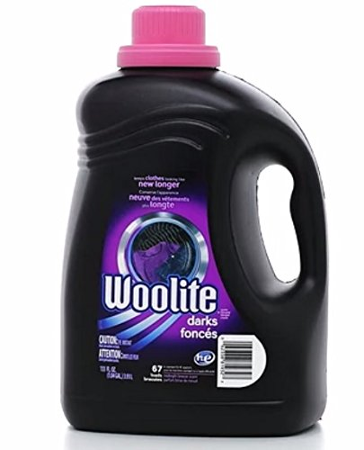 Woolite Darks High Efficiency HE Liquid Laundry Detergent, 133 Ounce / 67 Loads