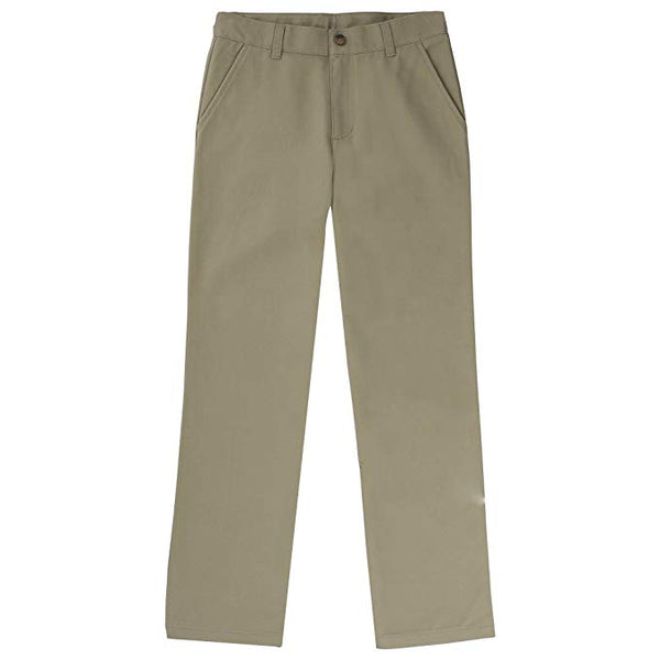 French Toast Boys' Straight Leg Twill Pant