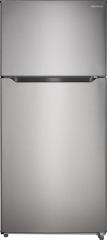 Insignia™ NS-RTM18SS7 - 18 Cu. Ft. Top-Freezer Refrigerator - Stainless steel