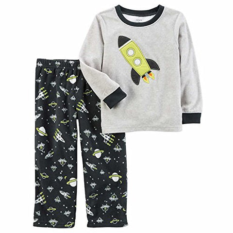 Carters boys pajamas Grey rocket