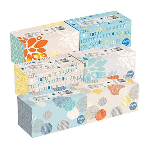 Kleenex Facial Tissue Family Pack White 230-count