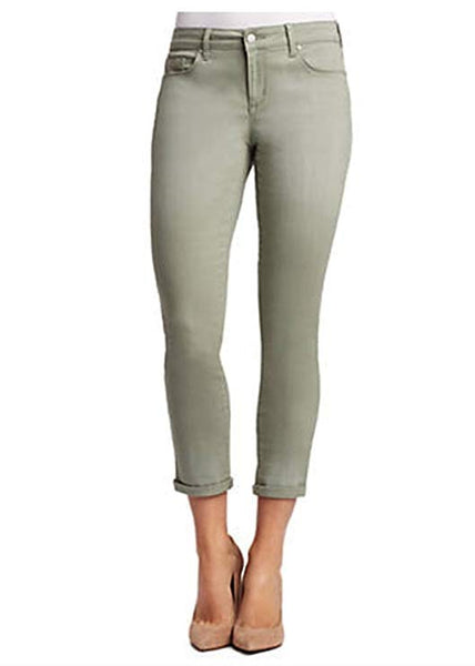Jessica Simpson Women's Roll Crop Skinny Jeans, Meadow Green