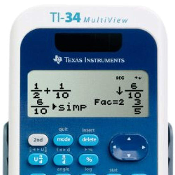 Texas Instruments Scientific Calculator TI-34 MultiView