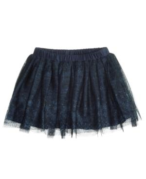 First Impressions Printed Tutu Skirt, Baby Girls, Created for Macy's - Blue 24 Months