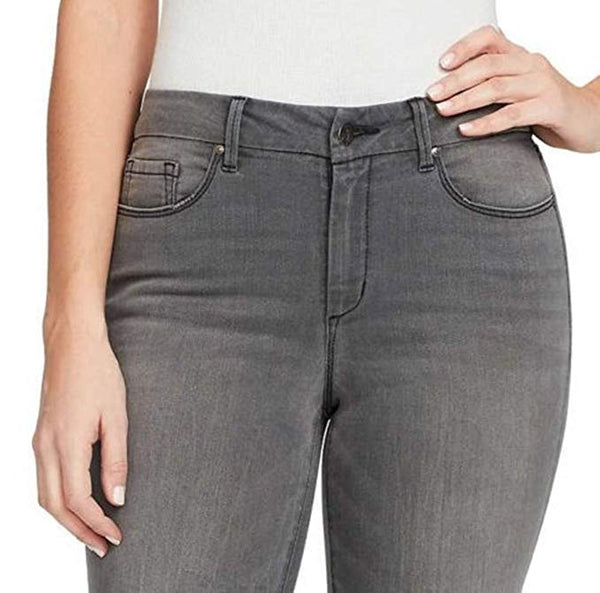 Jessica Simpson Women's Curvy High Rise Skinny Jeans Color Grey