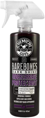 Chemical Guys TVD_104_16 Bare Bones Premium Dark Shine Spray for Undercarriage, Tires and Trim (475 ml)
