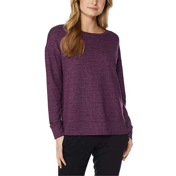 Women's 32 Degrees Super Soft Crew Neck Fleece Top