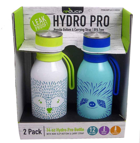 Reduce Furry Friends Hydro Bottles 2 Pack