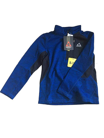 Gerry Kids Youth Boys Quarter Zip Lightweight Fleece Lined Sweatshirt Jacket