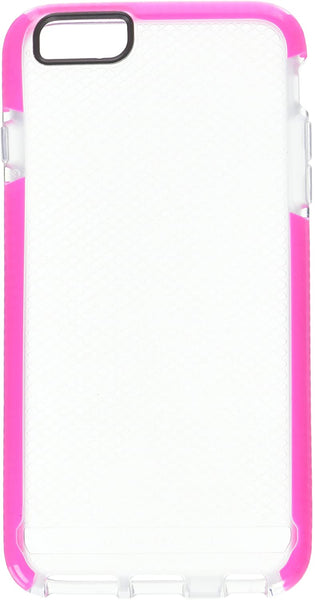 Tech21 Evo Check Soft Thin Iphone 6 Plus Iphone 6s Plus Case Cover Clear Pink