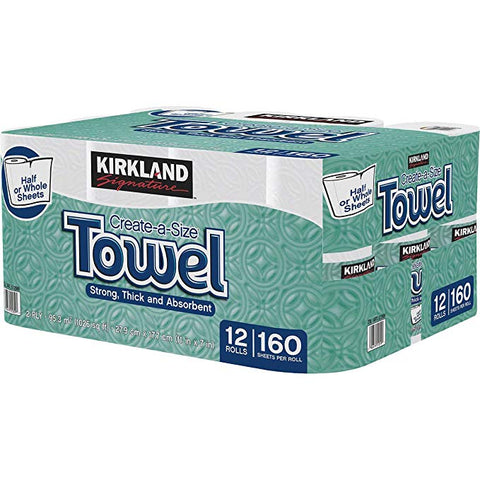 Kirkland Signature Paper Towels, 12-count