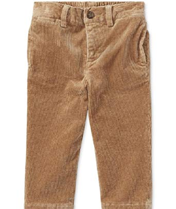 Polo Ralph Lauren Boys Slim Fit Stretch Corduroy Pants (Montana Khaki, 3M)