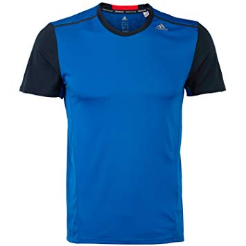 Adidas Performance Climacool T shirt blue and black