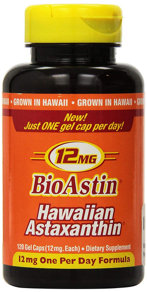 Nutrex Hawaii Bioastin Hawaiin Astaxanthin 12mg - 120 Gel Caps