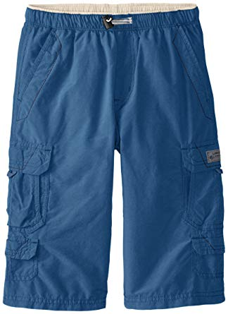 Unionbay Little Boys' Brooks 360 Cargo Messenger Short, Blue Glaze,