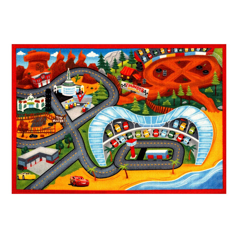 Gertmenian: Disney Cars 3 Play Rug 2017 HD Digital Cars3 Kids Road Rugs Bedding Playmat 54x78 inch, Large