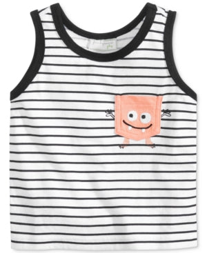 First Impressions Graphic-Print Cotton Tank, Baby Boys