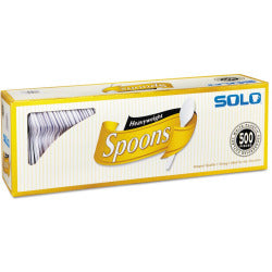 SOLO Heavyweight Plastic Cutlery