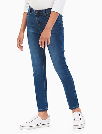 Calvin Klein ultimate skinny girl blue jeans