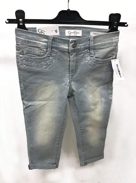 Jessica simpson rolled crop skinny size 6