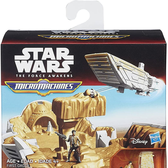 Star Wars the Force Awakens First Order Stormtrooper Micro Machines, Tan/White | Hasbro