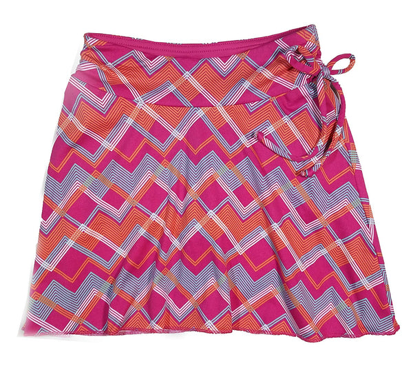 Colorado Clothing Tranquility Girls Sporty Skort Medium 8 Fuschia