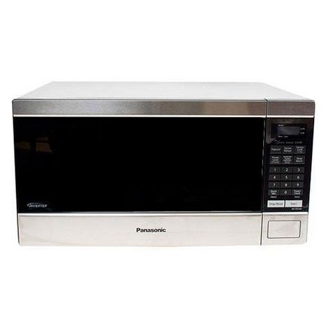 Panasonic 1.6 Cu. Ft. Countertop Microwave Oven with Inverter Technology™ - Stainless Steel - NN-SN744S