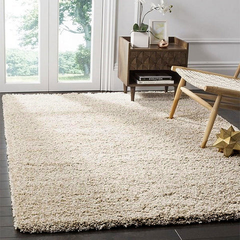 Safavieh California Premium Shag Collection Beige Area Rug