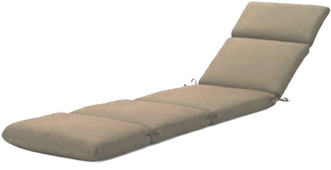 Sunbrella two pack chaise lounge cushions