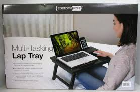 Birdrock Home Multi-Tasking Lap Tray for Laptops, Tablets and Smart Phones