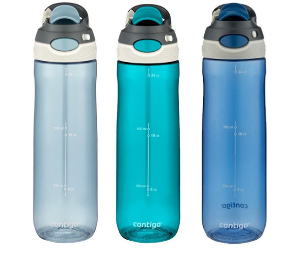 Contigo Water Bottles Autospout Spill proof 24oz