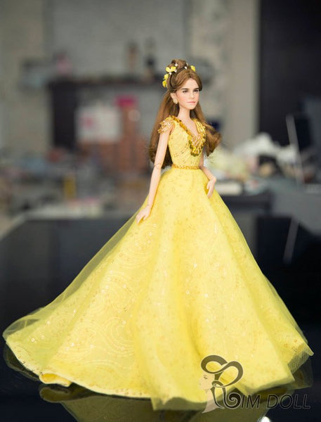 Beauty and the Beast Live Action Film OOAK by Rimdoll
