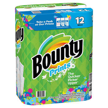 Bounty Huge Roll, Prints