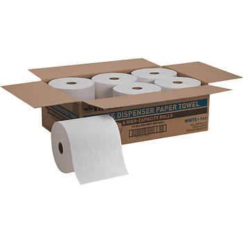 Viridian 6 high capacity roll white dispenser 800 feet/roll