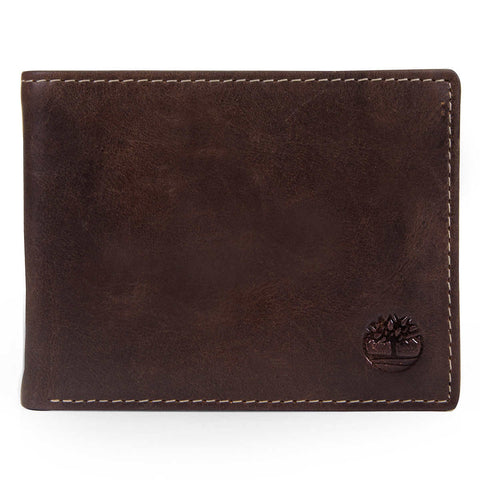 Timberland | Men's Genuine Saddle Leather Wallet