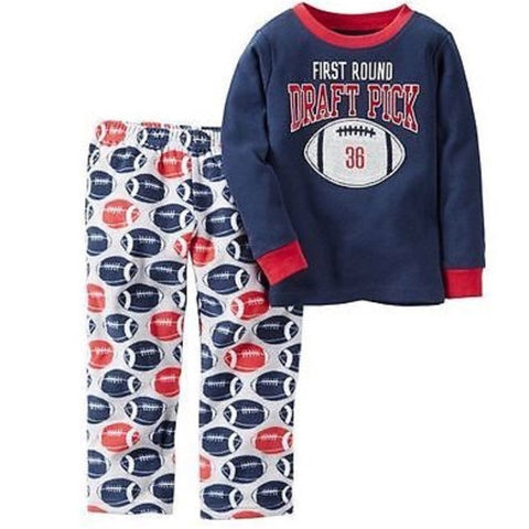 Carter's boys pajamas 2 firtsround draft pick