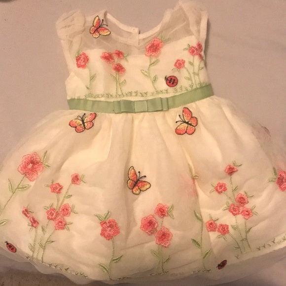 Jona Michelle Dresses - Beautifully lined baby butterfly dress