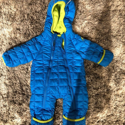 Snozu Infant Toddler Baby Child's Hooded Snowsuit