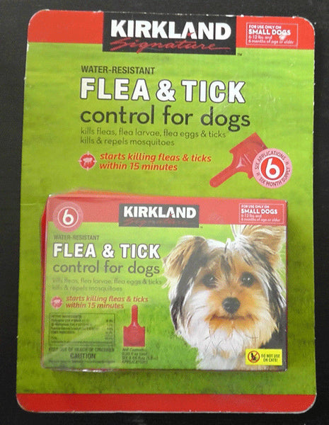 Kirkland Signature Flea and Tick Control for Dogs 2.7-5.5 kg
