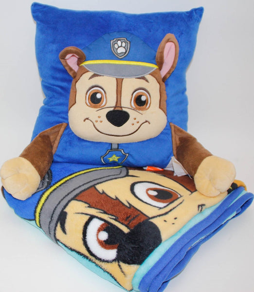 Paw Patrol Hug Me Pillow and Throw Set