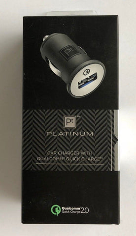 Platinum Car Charger Qualcomm 2.0 Quick Charge