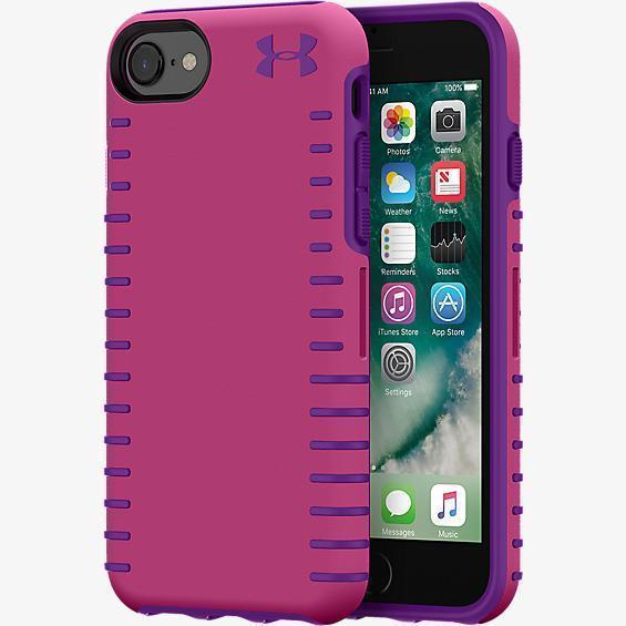 Under Armour UA Protect Grip Case for iPhone 8 - Pink/Purple
