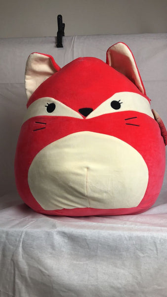 Squishmallows Super Soft Squishy Red Fox Pillow Pet Toy Large 8 Inches