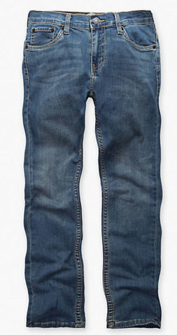 Levis Boys Denim Light Blue Jeans Reg 511 Slim 26x26