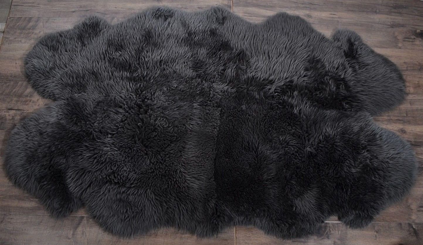 Picture of: Windward Natural Sheepskin Area Rug Taupe Color 73×43 Extra Soft Touch Homeoutlet