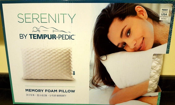 Serenity pillow memory foam by tempur-pedic