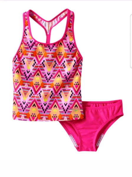 Girls Speedo Swimsuit Multi Color