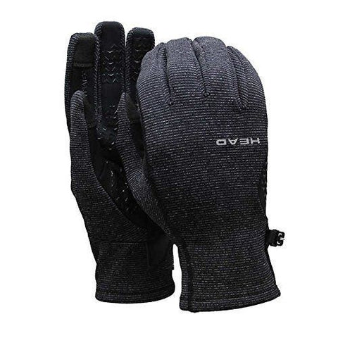 Head Sensatec Ultrafit Touchscreen Running Gloves Thermal Grid Heather Grey S/M/L