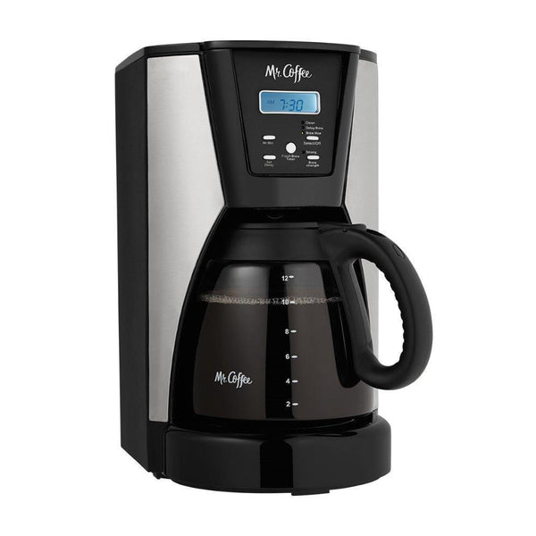 Mr.Coffee 12 Cup Programmable Coffeemaker w/ 1 Reusable Filter - CT1
